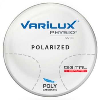 Varilux Varilux Physio W3+ Polarized [Gray/Brown] - Polycarbonate progressive Lenses