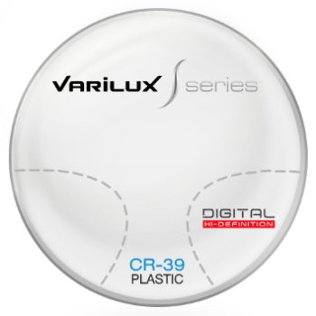 Varilux S Design CR-39 Plastic Progressive Lenses