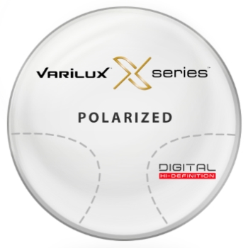 Varilux Varilux X Series™ Polarized [Grey or Brown] Basic Plastic CR-39 Progressive Lenses