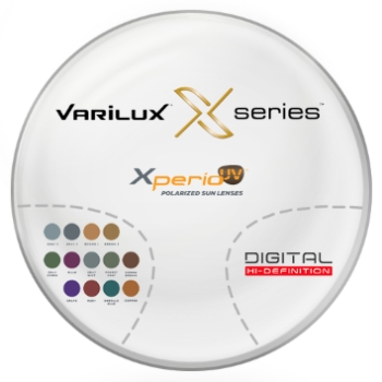 Varilux Varilux X Series™ Xperio UV™ Polarized [Grey or Brown] Basic Plastic CR-39 Progressive Lenses
