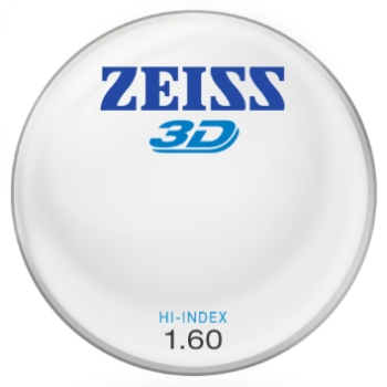 Zeiss Zeiss® 3D Hi-Index 1.60 Lenses