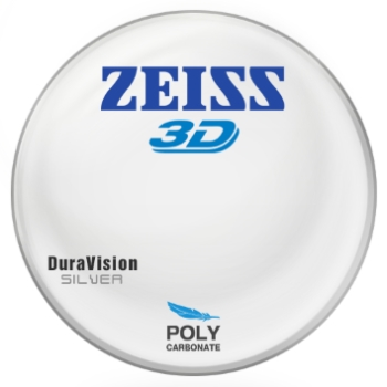 Zeiss Zeiss® 3D Polycarbonate W/ Zeiss DuraVision Silver AR Lenses