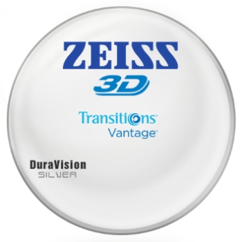 Zeiss Zeiss® 3D Transitions® Vantage™ CR-39 Polarizing [Gray] W/ Zeiss DuraVision Silver AR Lenses