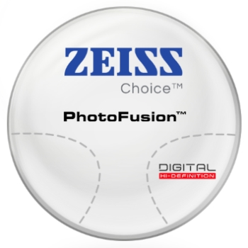 Zeiss Zeiss® Choice™ - PhotoFusion® - Hi-Index 1.67 Progressive Lenses
