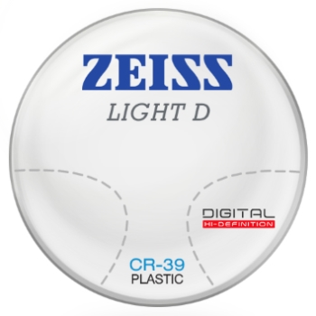 Zeiss Zeiss Light D Digital CR-39 Progressive Lenses