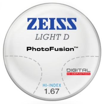 Zeiss Zeiss Light D Digital - PhotoFusion® - 1.67 Hi-Index Progressive Lenses