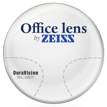 Zeiss Zeiss® OfficeLens Computer Glasses - Plastic CR-39 Progressives Lenses
