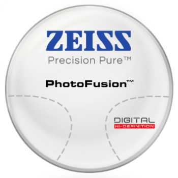 Zeiss Zeiss® Precision Pure™ PhotoFusion® [Gray or Brown]  Hi-Index 1.67 Progressive Lenses