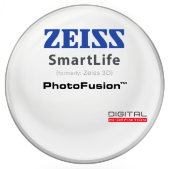 Zeiss Zeiss® SmartLife (3D) PhotoFusion® - Plastic CR-39 Lenses