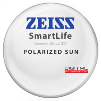 Zeiss Zeiss® SmartLife (3D) Polarized - Hi-Index 1.67 Lenses