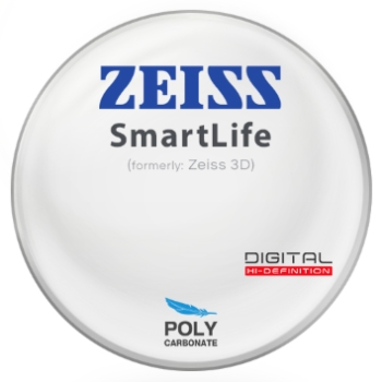 Zeiss Zeiss® SmartLife (3D) Polycarbonate Lenses