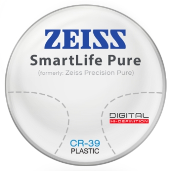 Zeiss Zeiss® SmartLife Pure (Precision Pure™) CR-39 Progressive Lenses