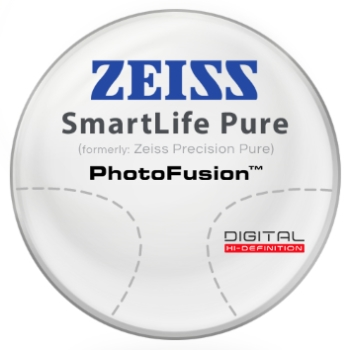 Zeiss Zeiss® SmartLife Pure (Precision Pure™) - PhotoFusion® - Hi-Index 1.67 Progressive Lenses
