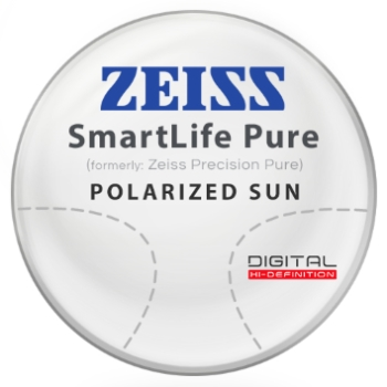 Zeiss Zeiss® SmartLife Pure (Precision Pure™) Polarized - Hi-Index 1.67 Progressive Lenses