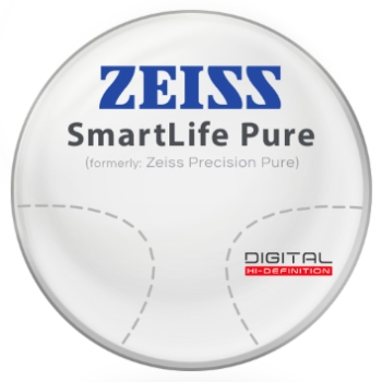 Zeiss Zeiss® SmartLife Pure (Precision Pure™) Hi-Index 1.60 Progressive Lenses