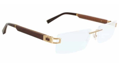 Gold & Wood Cosmos 02 Eyeglasses