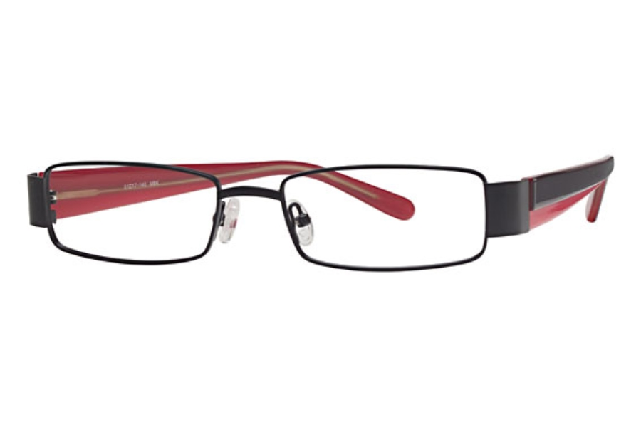 Amadeus AS0601 Eyeglasses in MBK Matte Black
