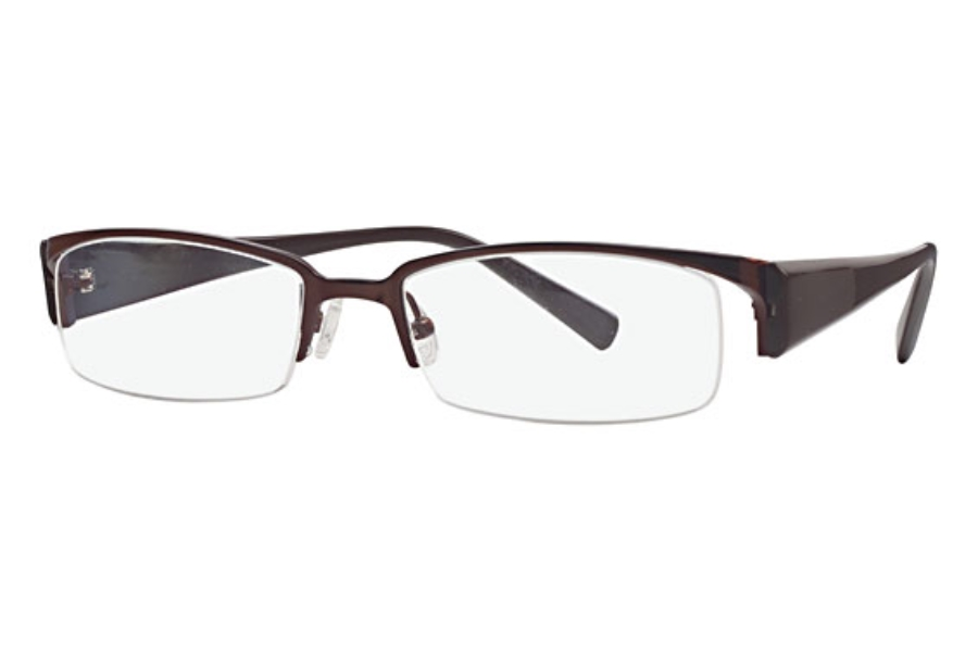 Amadeus AF0631 Eyeglasses in DBR Dark Brown