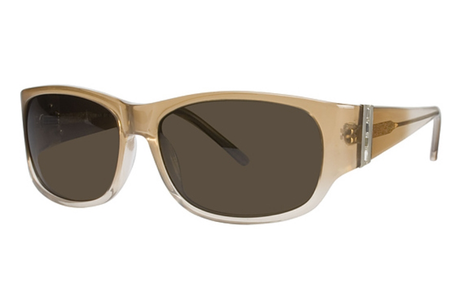 Heat HS0211 Sunglasses in BRN/FADE Brown Fade