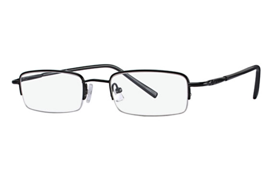 Mandalay Titanium w/ Clip Ons MCC 003 Eyeglasses in Black