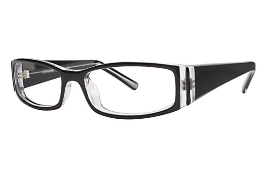Gothamstyle Gothamstyle 122 Eyeglasses in Black Laminate