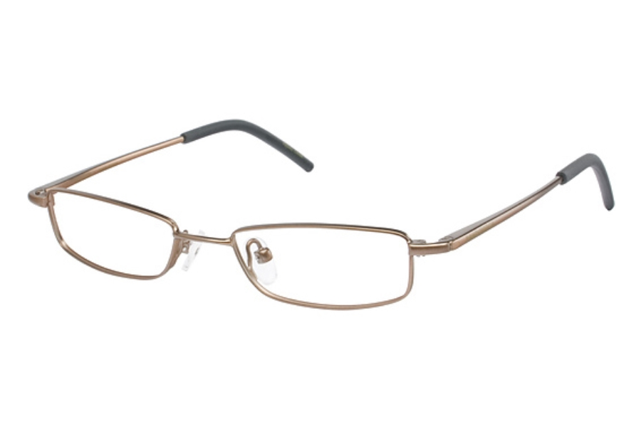 New Balance Kids NBK 29 Eyeglasses in MEDIUM GOLD