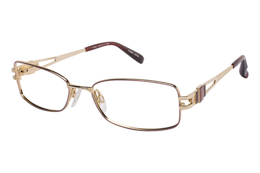 Tura 274 Eyeglasses in ROSE/GOLD