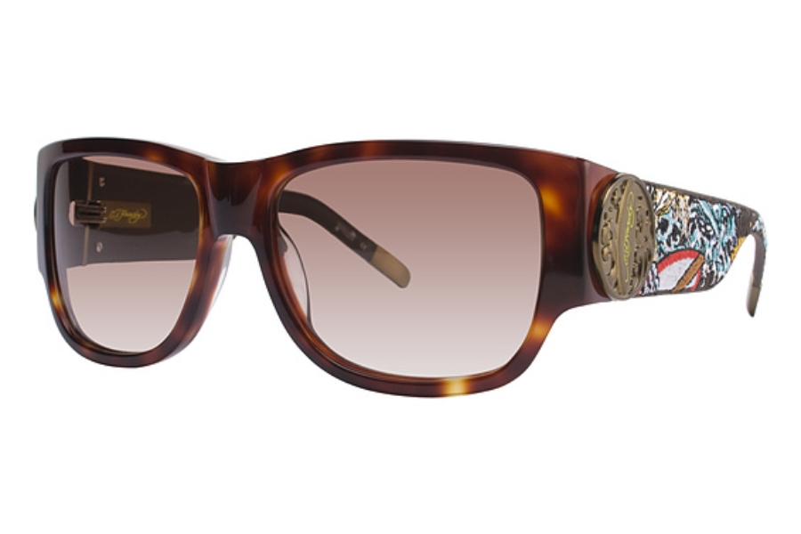 Ed Hardy EHS 040 SURF OR DIE Sunglasses in Ed Hardy EHS 040 SURF OR DIE Sunglasses