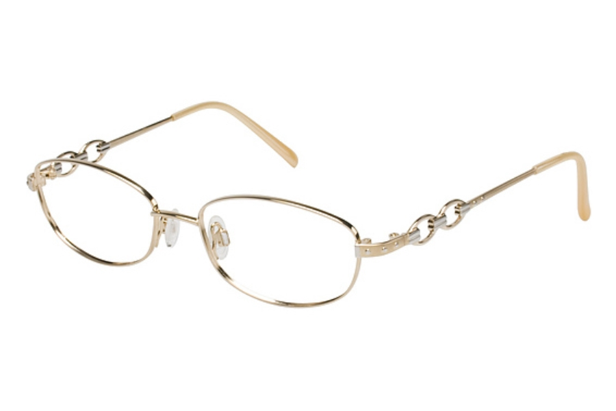 Tura 531 Eyeglasses in GOLD/SILVER