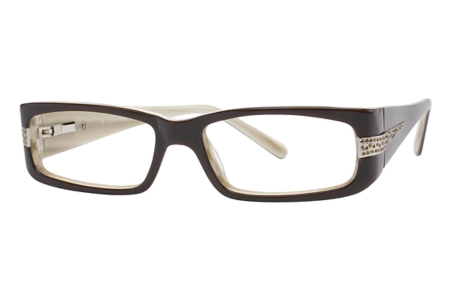 Vivid Boutique VIVID Boutique 4010 Eyeglasses in Brown