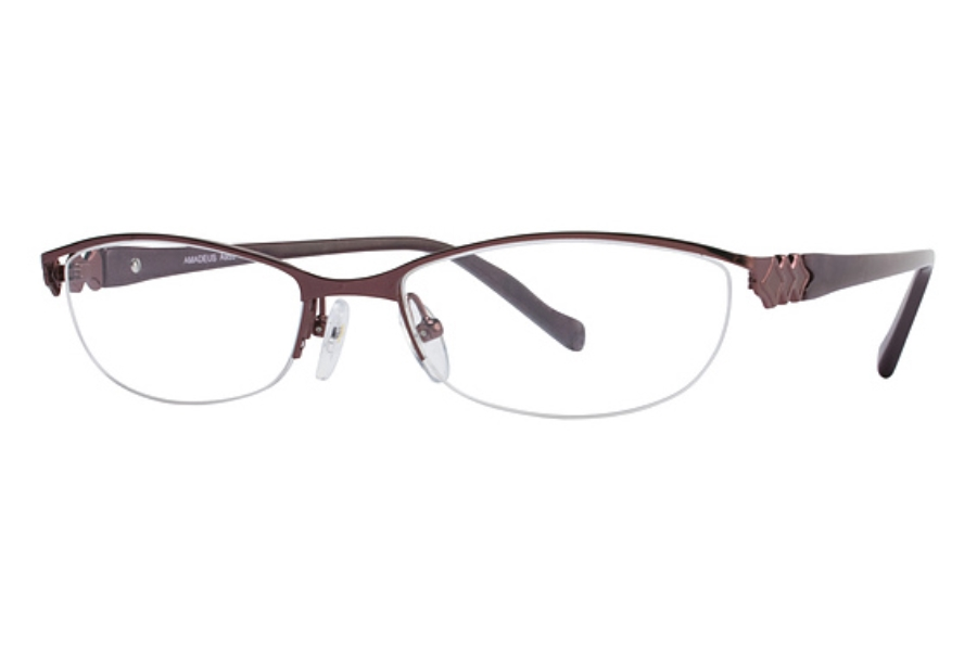 Amadeus A955 Eyeglasses in WN WINE