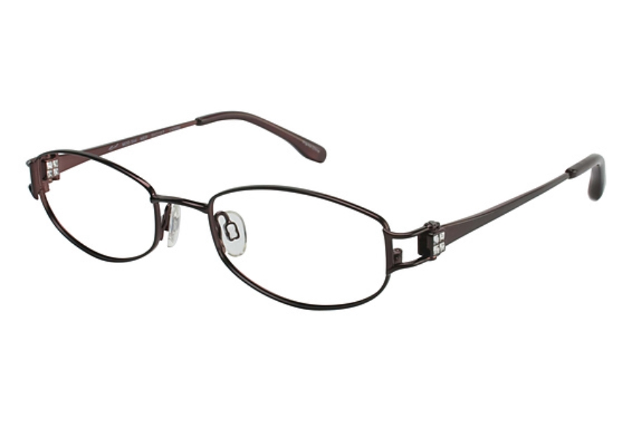 Tura 544 Eyeglasses in MERLOT (50 eye size only)