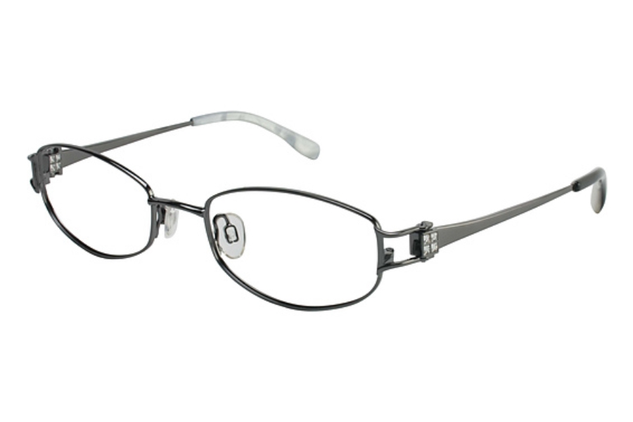 Tura 544 Eyeglasses in GUNMETAL