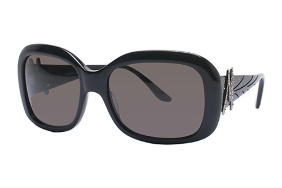Guess by Marciano GM 606 Sunglasses in BLACK w/Grey Lenses