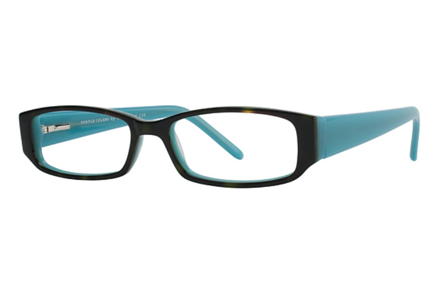 Vera Cruz Turtle Island Eyeglasses in Turquoise