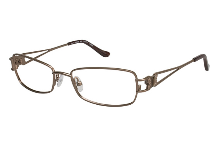Tura 596 Eyeglasses in ROSE GOLD