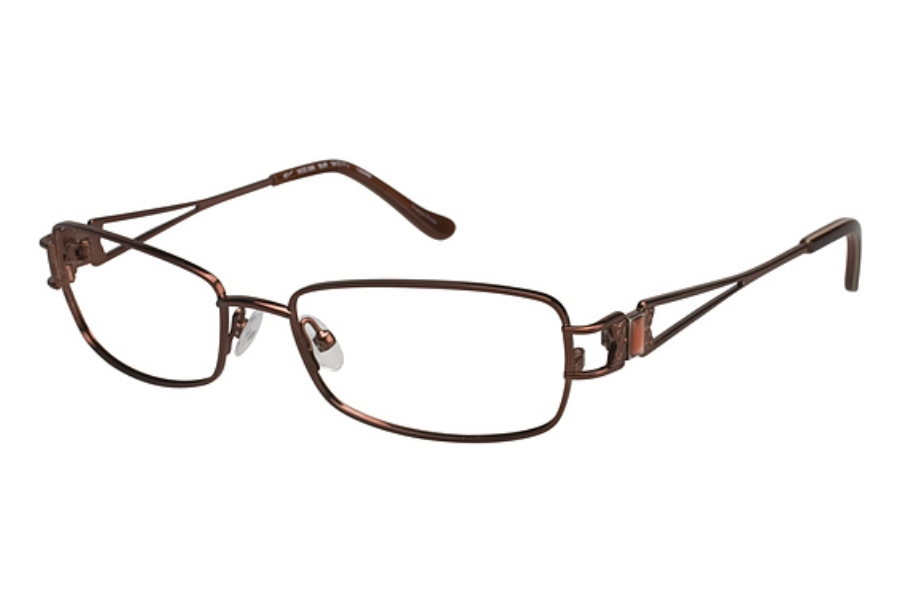 Tura 596 Eyeglasses in BROWN