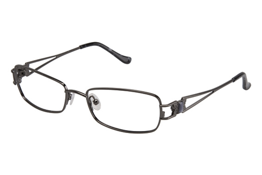 Tura 596 Eyeglasses in GUNMETAL