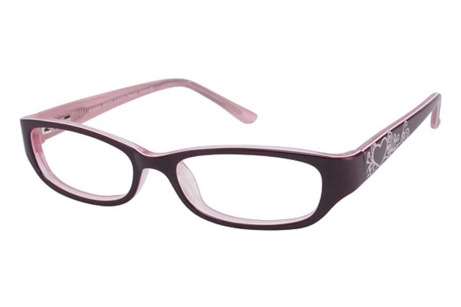 Runway RUN PT5 Eyeglasses in BURGUNDY/PINK