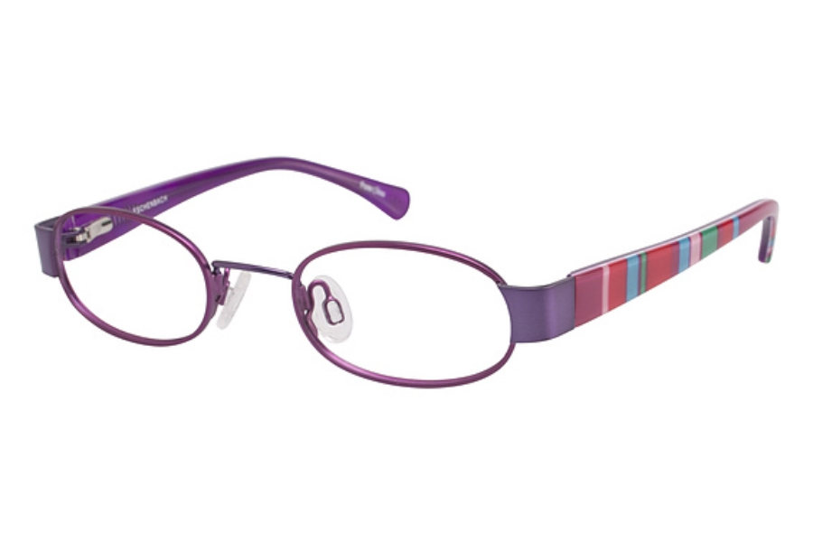 O!O 830026 Eyeglasses in MAGENTA/PURPLE (50)