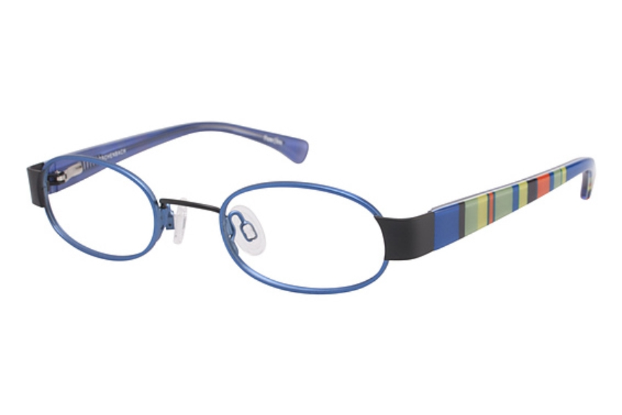 O!O 830026 Eyeglasses in BLUE BLACK (70)