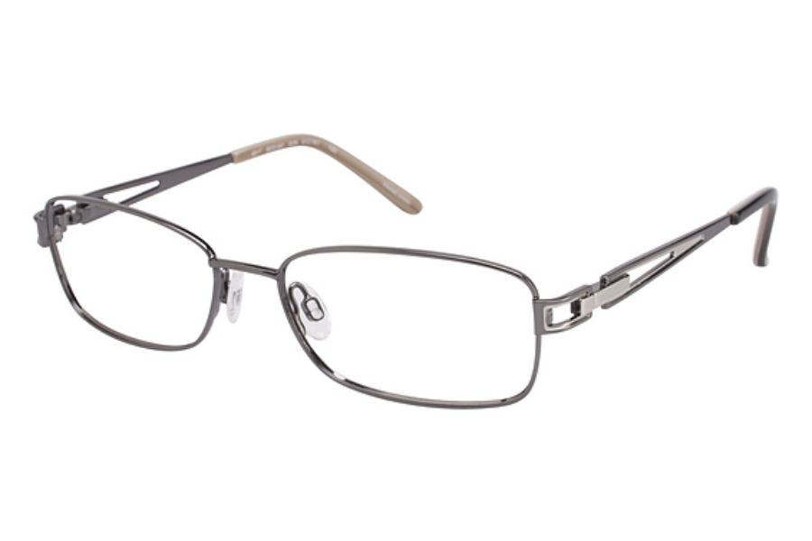 Tura 641 Eyeglasses in GUNMETAL