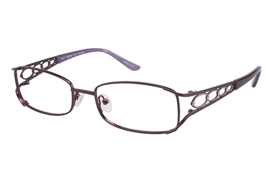 Tura 645 Eyeglasses in PLUM