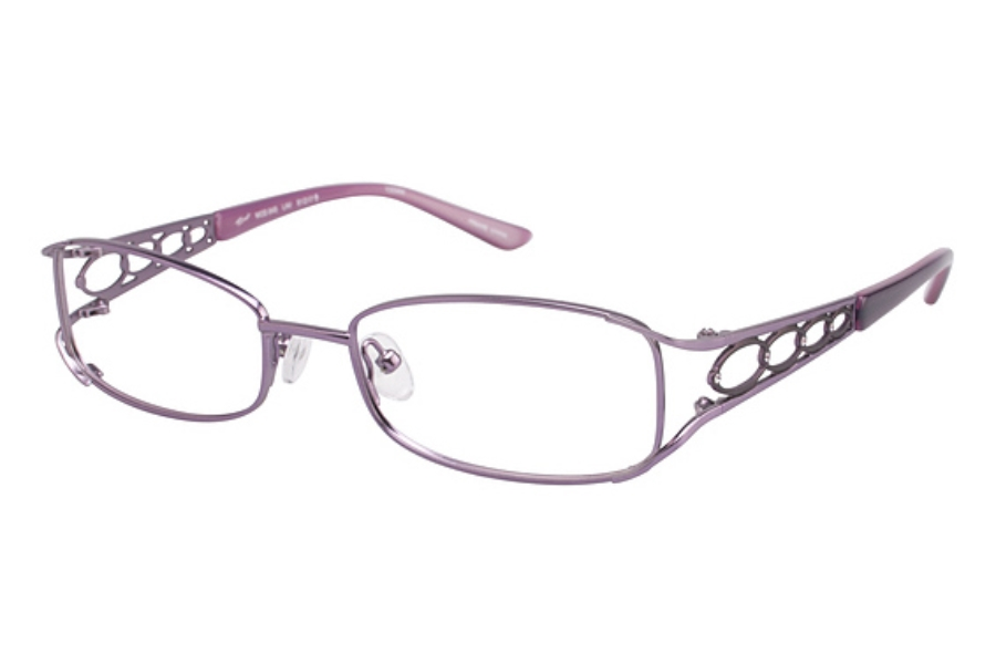 Tura 645 Eyeglasses in LAVENDER