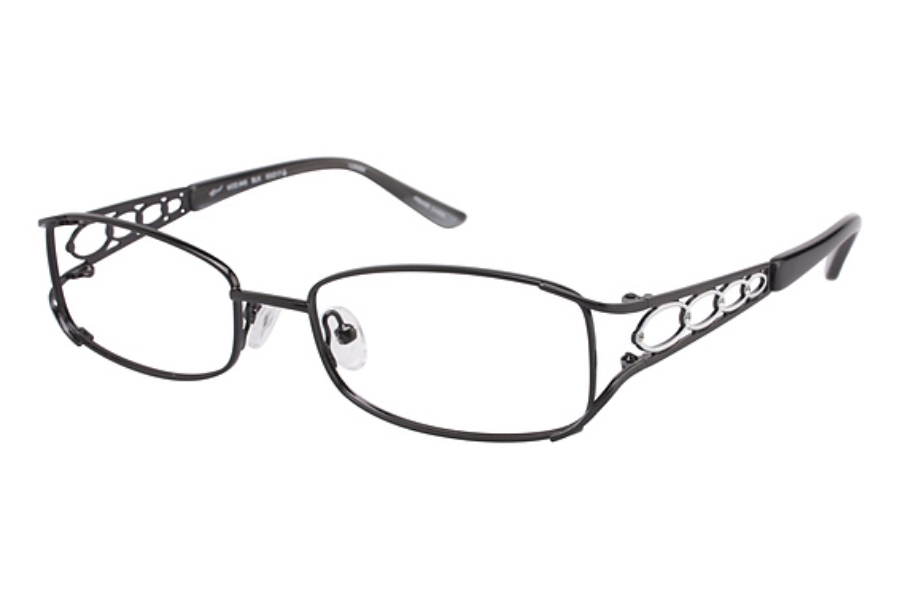 Tura 645 Eyeglasses in BLACK