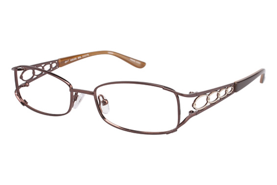 Tura 645 Eyeglasses in BROWN
