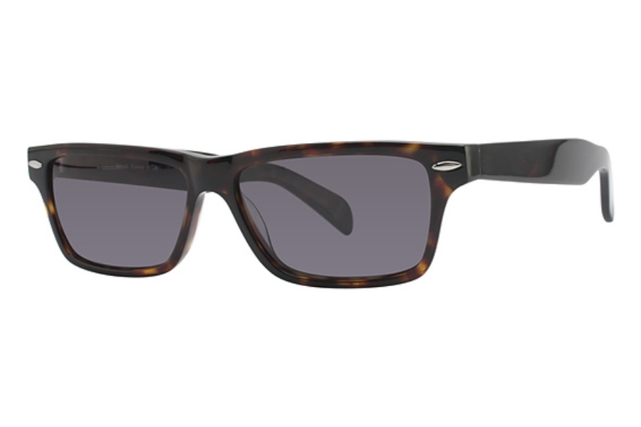Artistik ART 406 SUN Sunglasses in Dark Coffee Marble