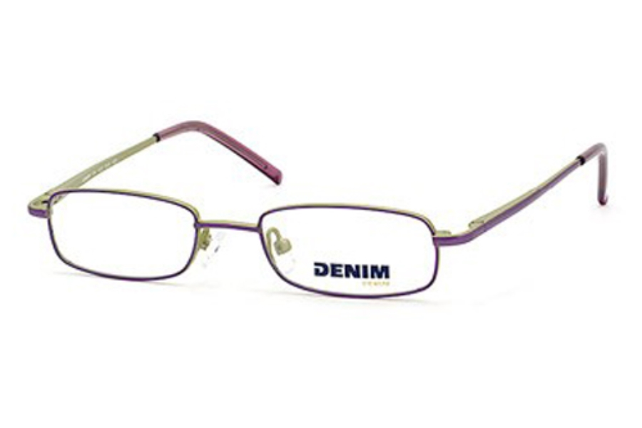 DENIM DN 403 Eyeglasses in 0SU5 (00) PLUM GREEN
