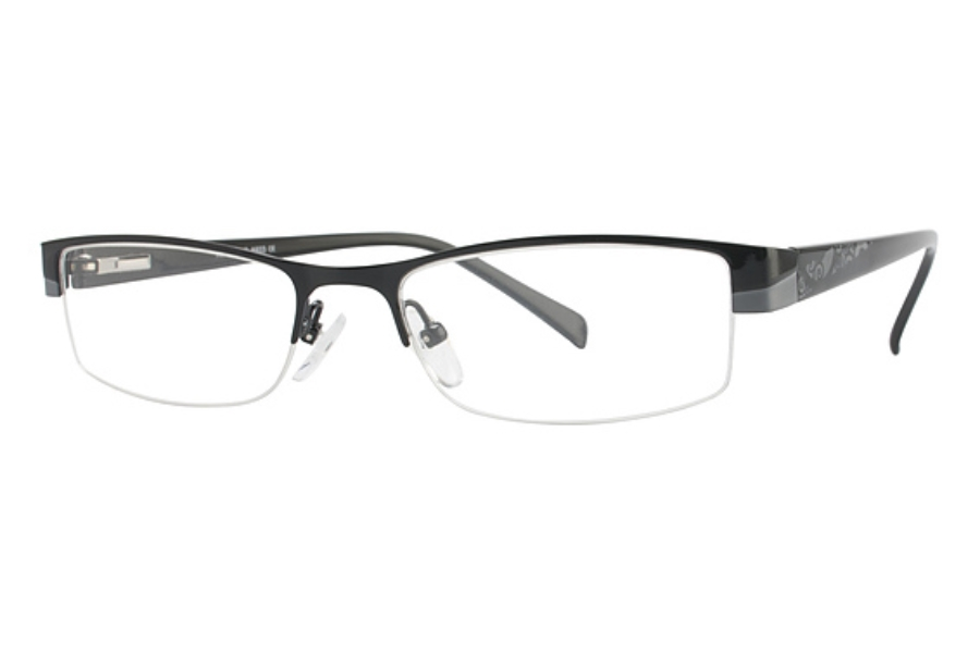 Amadeus A933 Eyeglasses in BLK BLACK