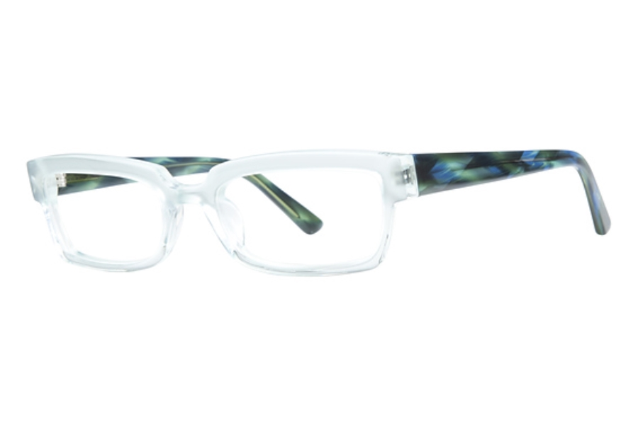 OGI Eyewear 3106 Eyeglasses in 1414 Green/Blue Ripple